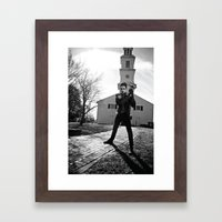 Spook Framed Art Print
