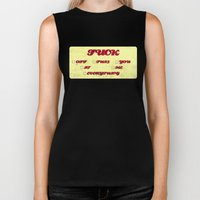 So Many Choices Biker Tank