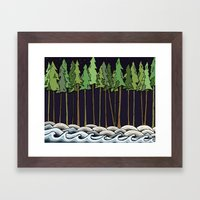 Natural Night Framed Art Print