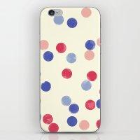 WATERCOLOR CONFETTI iPhone & iPod Skin