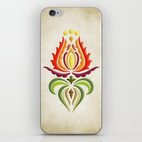 Fancy Mantle On Vintage … iPhone & iPod Skin