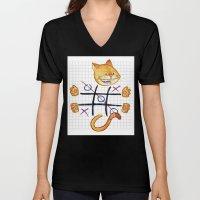 Tic Cat Toe Unisex V-Neck