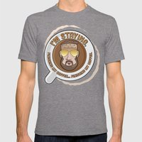 I'm Staying. Finishing M… Mens Fitted Tee Tri-Grey SMALL