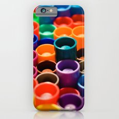 stacked markers iPhone 6 Slim Case