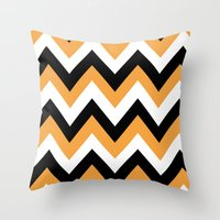 COWBOY CHEVRON Throw Pillow
