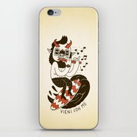 Vieni con Me iPhone & iPod Skin
