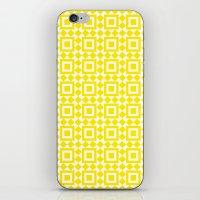 Moroccan Tiles Yellow iPhone & iPod Skin