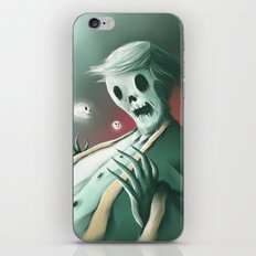 The haunted thoughts iPhone & iPod Skin