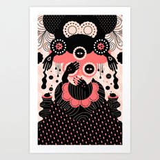Hallucination Art Print
