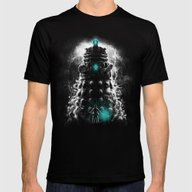 Shadow Of The Dalek Mens Fitted Tee Black SMALL