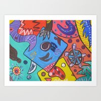 Abstract2 Art Print