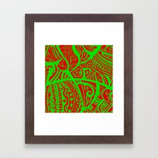Abstractish 3 Framed Art Print