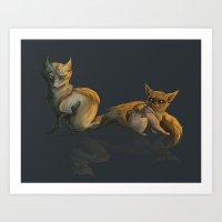 Hoenn Monster Art Print