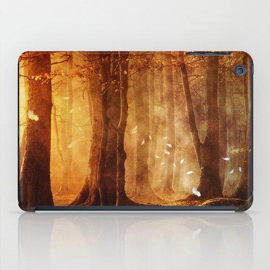 In the woods. iPad Case