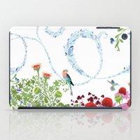 Meadow scene (full) iPad Case