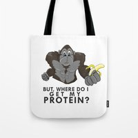 The Protein Question Tote Bag