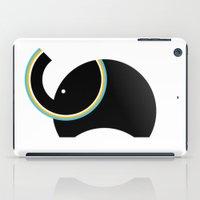 Retro Elephant iPad Case