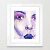 Close Up 4 Framed Art Print