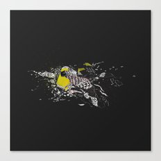 turn to greed Canvas Print
