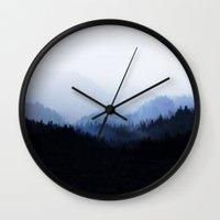 Woods 5  Wall Clock