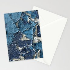 Blue Crumble Stationery Cards