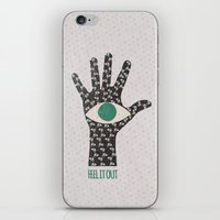 Feel It Out iPhone & iPod Skin