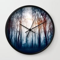 Morning Colours Wall Clock