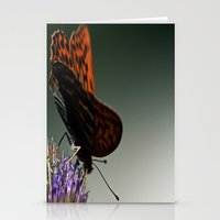 I spread my wings Stationery Cards