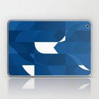 Blue Stamp Laptop & iPad Skin