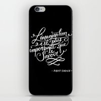 L'imagination iPhone & iPod Skin