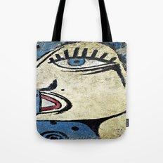 Big Blue Eye Tote Bag