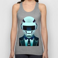 Daft Punk Unisex Tank Top