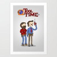 tool time. Art Print