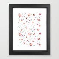 Floral Design Framed Art Print