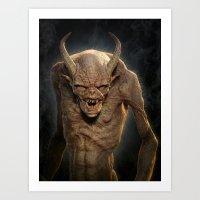 Demon III Art Print