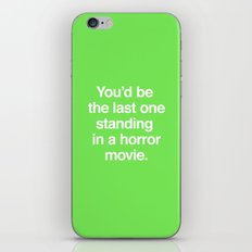 Last One Standing iPhone & iPod Skin