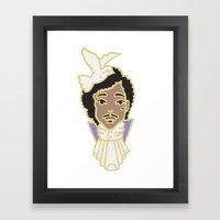 Prince Tribute Framed Art Print