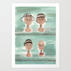 Dead Wives Art Print