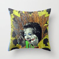 OMG, Jewels Throw Pillow