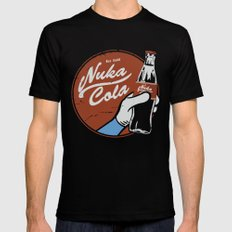 Nuka Cola Fallout drink Black Mens Fitted Tee SMALL