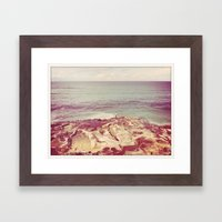 Fishing Solo Framed Art Print