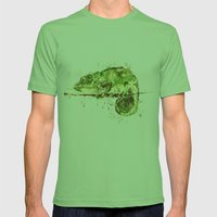 Green Guy Mens Fitted Tee Grass SMALL