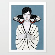 Mila Art Print