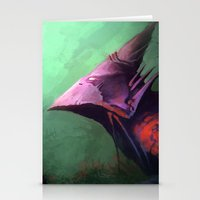 Ancient Bird Stationery Cards
