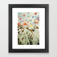 We Are Home Framed Art Print