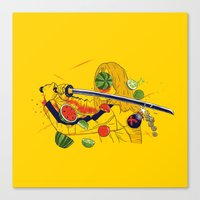 Kill Fruit Canvas Print