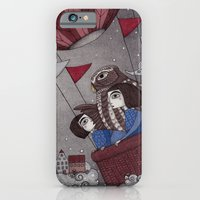 iPhone & iPod Case featuring Through the Clouds and Back Again by Judith Clay