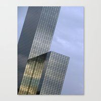 The NN-Building (Rotterd… Canvas Print
