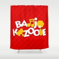 Banjo-Kazooie - Red Shower Curtain
