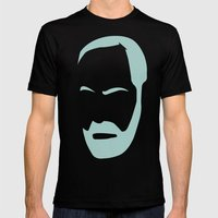 FREUD Mens Fitted Tee Black SMALL